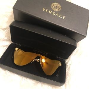 Versace Shield Sunglasses